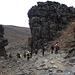 Abstieg vom Lava-Tower