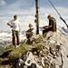 Am Gipfel der Jochspitze