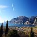 Blick auf Torbole und Lago di Garda