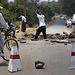 Straßenbau afrikanisch