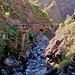 kunstvolle Brücke für die Wasserleitung