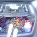 Erfolgsmeldung des Tages: Im Auto schaut's mal wieder aus wie Sau ... Wenigstens das hat geklappt ...