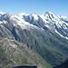Blick nach Norden Richtung Großes Wiesbachhorn.