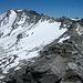 Wem die Kraxelei über dem Grat zu heftig ist kann auf die Gletscherflächen ausweichen. Heute gibt es aber für mich keine Grund dazu.