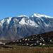 Gjallica, see from the Tirana - Kukes highway, in January