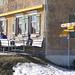 Angenehmes Verweilen auf der Sonnenterasse vom Bergrestaurant Scheidegg