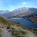 Blick zurück auf den Silser See