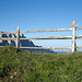 "Wegweiser zum ""Günther-Messner-Steig""."