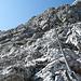 Kurze knackige Klettersteigeinlage.