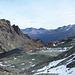 Blick vom Pass Lunghin zur Bernina-Gruppe