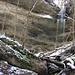 kleiner Seitenwasserfall