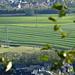 Die früheren Dörfer Merkstein und Alsdorf sind zu Zeiten des Bergbaus zu Kleinstädten angewachsen und eng aneinander gerückt.