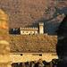 Der Blick vom einen Schloss zum anderen, Castello di Sasso Corbaro