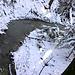 Trüebbach im kalten Winterwald