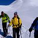 All'Alp Andies, dietro il fantastico canale appena disceso.