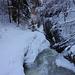 Blick vom Steg P712 Talwärts, hier kommt gleich eine Serie von Wasserfällen