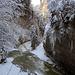 """Rotacheschluch, hier stürzt das Wasser über die höchsten Stufen in den """"Chessel"""" hinunter. Von oben leider nicht zugänglich.,"""