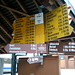 Am Bahnhof Boltingen; zahlreiche Wanderungen bieten sich an