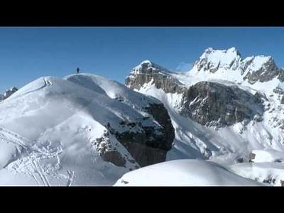 Sibirische Schiitur zum höchsten Punkt vom Rau Stöckli 2290m.<br /><br />