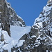 couloir from the rocks