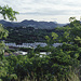 Landschaft bei Cape Estate,Blick auf die Berge im Süden