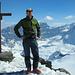 Auf dem Gipfel des Gemsfairensstock.