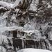 Gläserner Wasserfall