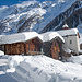 17. Februar: zum Rekognoszieren einer Variante bin ich nochmals im Lötschental und komme beim Weiler Eisten vorbei.
