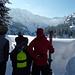 Am Garichti Stausee treffen sich die Wassersportler  - alle mögens am liebsten gefroren!