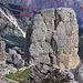 Torre Grande d'Averau (le 3 cime che la formano)