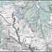 Cartina della zona del Monte Giovo.