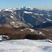 salendo al passo Bocca di Massa,in basso il rifugio Cella,sullo sfondo il Monte Giovo...