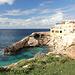 Għar Lapsi - Rückblick zur kleinen Bucht und den benachbarten Gebäuden, kurz nach dem Beginn unserer Wanderung.