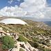 Unterwegs zwischen Mnajdra und Għar Lapsi (Rückweg) - Ausblick unweit von Mnajdra zu den prähistorischen Tempelanlagen und zum alten Wachturm.