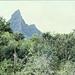 """Der Rempart,mit 480m Höhe ein ungefähr im Massstab 1:10  verkleinertes """"Matterhorn"""",seine Form kann mit dem Original aber konkurrieren,seine Besteigung ist nur mit Seil und Klettererfahrung möglich,sagte man damals vor Ort"""