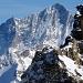 La Roussette, im Hintergrund das Weisshorn 4506m