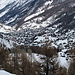 Zermatt tief unten im Tal