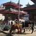 Un angolo di Durbar Square a Kathmandu