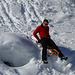 Papi [u alpinbachi] macht Downhill...