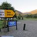 Bei der Suizandina: Korrekter Wegweiser, so weit wollen wir dann doch nicht...