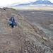 Für uns geht es jetzt wieder auf selbigen Weg zurück, natürlich mit Begleitung. Übrigens sind wir in Island noch auf einer weiteren Tour freundlicherweise von einem Hund begleitet worden.