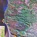 Eine der wenigen Karten der Gegend - der Weg ist nicht besonders präzise eingetragen. Auch existiert der Weg zum Refugio Anay (23) nicht mehr!