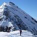 Auf dem Gipfel – und irgendwie doch nicht - überragt vom Schlossberg bzw. Vorgipfel Hinter Schloss