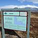 Hinweistafel zu dem ehmaligen Fischerort Dritvík.