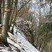 steiler Aufstieg zum Acheberg