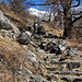 Der Weg ist das Ziel - weitere Treppen