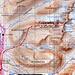 Fjällkartan BD6 mit GPS-Route