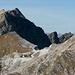 Passo della Focolaccia e monte Cavallo visti da sud...