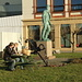 Szene in Alesund - es waren 10 Plusgrade!