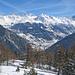 Mont Gelé, Mont Fort und Bec des Rosses